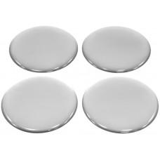 Dekal för centrumkåpa - Silver