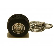 Nyckelring - Däck med fälg