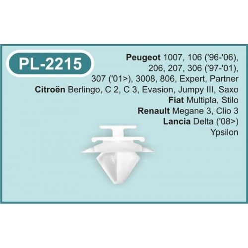 Plastclips PL-2215